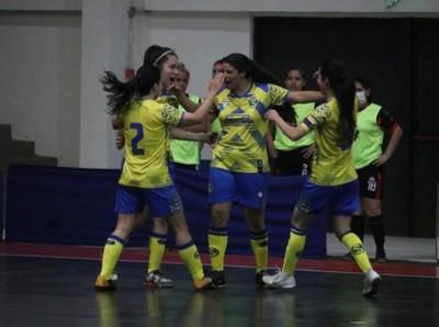 Se completó la cuarta fecha del Futsal Femenino