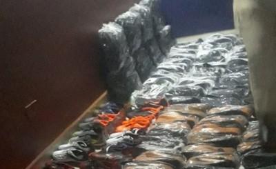Incautan casi 700 calzados presuntamente falsificados
