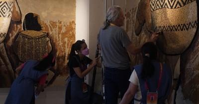 La Nación / La cultura guaraní y la arena del desierto se mezclan en la Expo Universal de Dubái