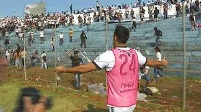 Procesados por disturbios en el estadio Río Parapití están abonando por reparación de daños sociales