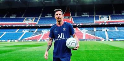 Lionel Messi y su estreno en Champions con el PSG