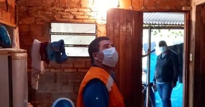 La Nación / Temporal afectó a más de 1.900 familias y SEN brinda asistencia
