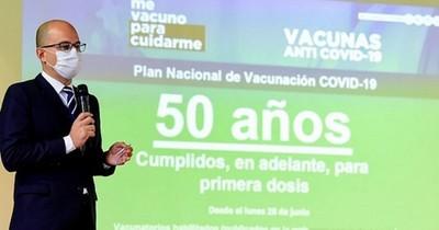 La Nación / Falta vacunar a 540 mil personas mayores de 50