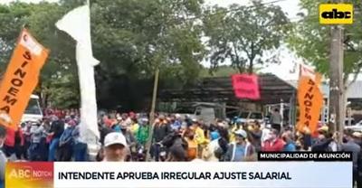 Intendente de Asunción aprueba millonario presupuesto para aumentos salariales