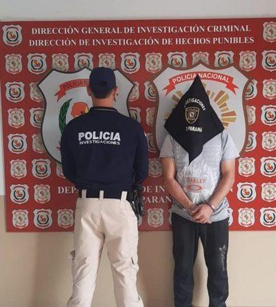 Detienen a presunto traficante de drogas