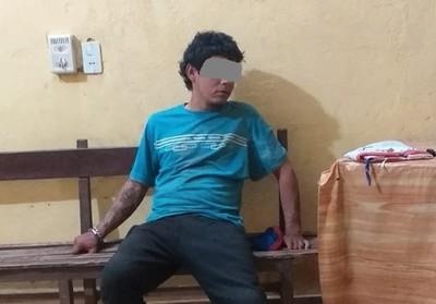 Asaltaron a vendedores de sandía y uno de los delincuentes fue detenido
