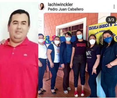 """""""Colorados hacen proselitismo político tranquilamente en escuelas de Pedro Juan Caballero"""""""