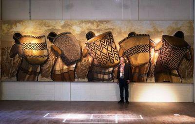 Mural de Koki Ruiz en la Expo Universal de Dubái •