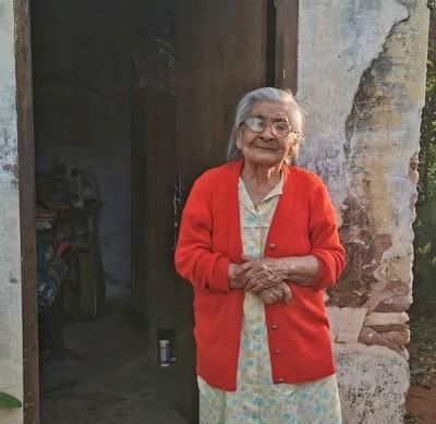 SEN asistió a mujer de 80 años afectada por el temporal