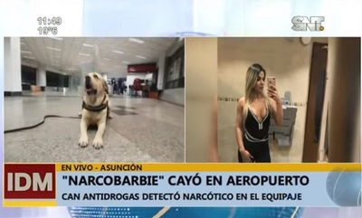 "Imputan a ""narcobarbie"" detenida en aeropuerto"