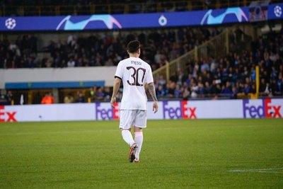 El PSG de Messi no pudo ante Brujas en su estreno en la Champions