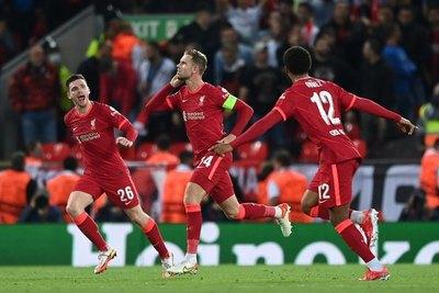 El Milan pierde contra el Liverpool en su regreso a la Champions