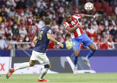 Atlético de Madrid empata con el Porto en la Champions