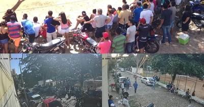 La Nación / Vecinos de Lambaré sufren pesadilla hace años por uso de plaza para masivo torneo de fútbol