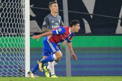 Debut goleador en Champions