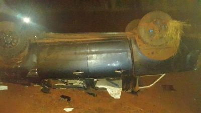 Yguazú: Vuelco de vehículo deja un fallecido