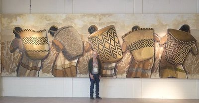 Crónica / Arte guaraní brilla en Dubái con Koki Ruiz