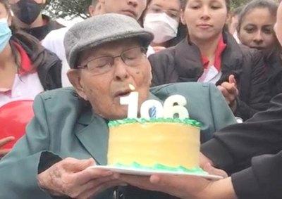 Crónica / Reliquia de Caazapá: cumplió ¡106 años!