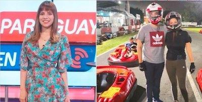 Crónica / Periodista hace de jefa en carreras de karting