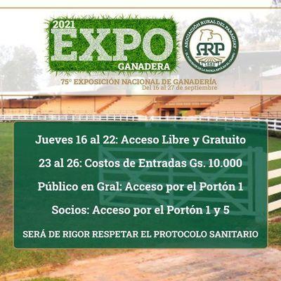 La Expo de MRA se abre al público luego de dos años