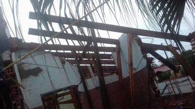 Derrumbe en Villa Elisa  afecta a candidato y salpica a intendente