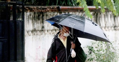 La Nación / Pronostican lluvias y ocasionales tormentas para este jueves