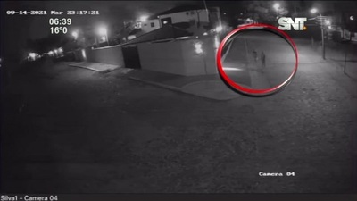 Hermanos fueron detenidos por robar luces de viviendas en Villa Elisa