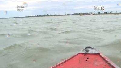 Realizan dragado en el Río Paraguay para facilitar navegabilidad