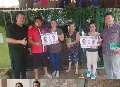 Julio Paredes sigue conquistando a valiosos dirigente de diferentes seccionales de CDE – Diario TNPRESS
