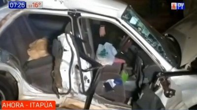 Accidente fatal en Itapúa