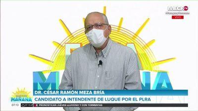 Bría afirma que priorizará la infraestructura vial y la seguridad, si gana la Intendencia de Luque
