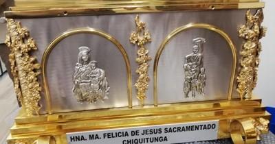 La Nación / Con animación, música y misa se aguardará la llegada de las reliquias de Chiquitunga