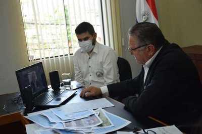 Alejo Ríos presentó el Informe de Gestión de la Gobernación del Departamento de Caaguazú