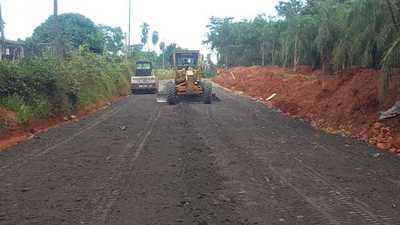 Avanzan los trabajos de la obra que mejorará conectividad entre Itá y Yaguarón
