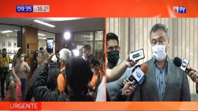 Incidentes tras falta de quórum en Junta Municipal