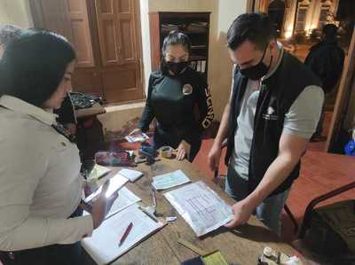 Interceptan encomienda con cocaína en Concepción