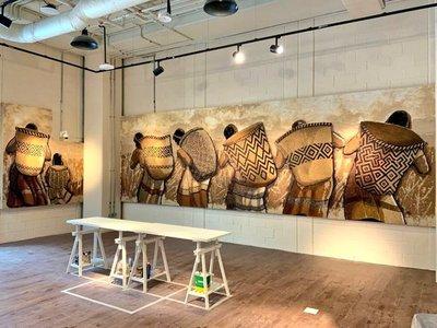 Mural de artista paraguayo, listo para lucir en Expo Universal de Dubái