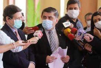 Borba y Acevedo viajarán a Ginebra para reunirse con el presidente de la OMS