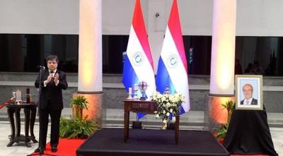 Paraguay rinde homenaje póstumo al embajador Bernardino Cano Radil