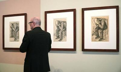 Descubren un nuevo dibujo de Vincent van Gogh de 1882