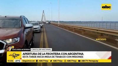 Canciller tendrá reunión definitoria con gobernador de provincia de Misiones sobre apertura de frontera