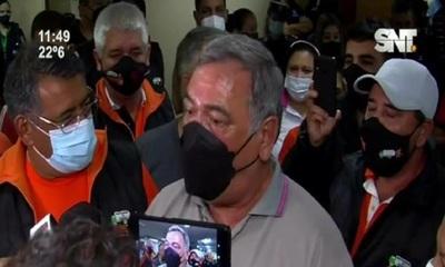 Reajuste salarial: Incidentes en Junta Municipal de Asunción
