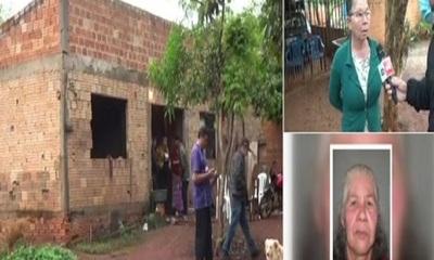 Adicto mató a una anciana por un brasero en CDE