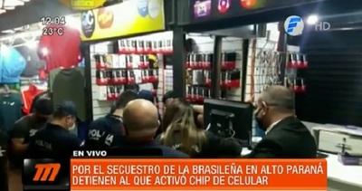 Detienen a hombre que activó los chips usados por secuestradores de brasileña