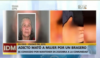 Joven asesinó a anciana tras disputa por brasero, reportan