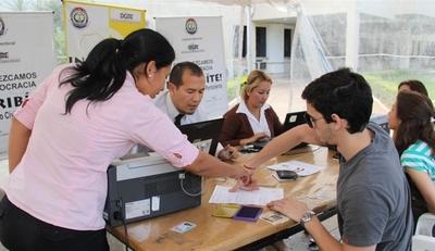 ¿Cuántos jóvenes de entre 18 y 29 años están habilitados para votar en las elecciones municipales?