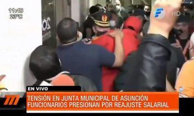Tensión en la Junta Municipal de Asunción
