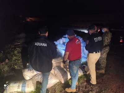 Duro golpe al contrabando: incautaron 5 toneladas de azúcar ingresadas desde Argentina