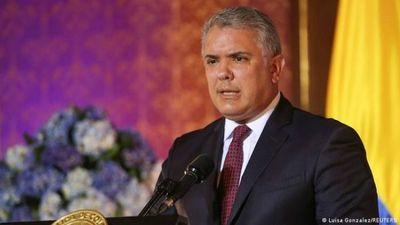 Duque rechaza aliviar las sanciones internacionales contra el régimen de Maduro