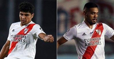 Rojas reemplazó de 'urgencia' a Martínez y River goleó a Newell's